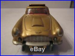 Vtg Corgi Toys James Bond Aston Martin Db5 Gold Made In England
