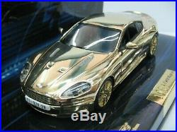 WOW EXTREMELY RARE Aston Martin DBS Gold James Bond 007 Royale 143 Minichamps