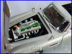 Weapon Ejector Seat Gadgets Autoart 1/18 Aston Martin DB5 007 James Bond Toy Car