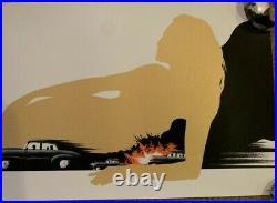 X/150 James Bond Pinup Print Poster LYNDON WILLOUGHBY DB5 Aston Martin not Mondo